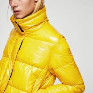 Mango Jackets & Coats - Mango crop waterproof puffer